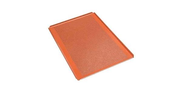 Premium Silikon Backblech Profesional de bandeja de horno (6 unidades, silicona, 60,0 X 40,0 cm silicona njs080 - Placa perforada silicona bandeja de horno ...
