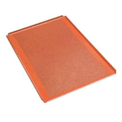 Premium Silikon Backblech Profesional de bandeja de horno (6 unidades, silicona, 60,