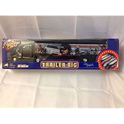 NASCAR 2002 Winner's Circle . . . Dale Earnhardt #3 Forever The Man Trailer Rig Diecast: Toys & Games