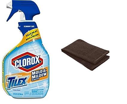 amazon com clorox plus tilex bathroom cleaner 32 ounce mold and rh amazon com