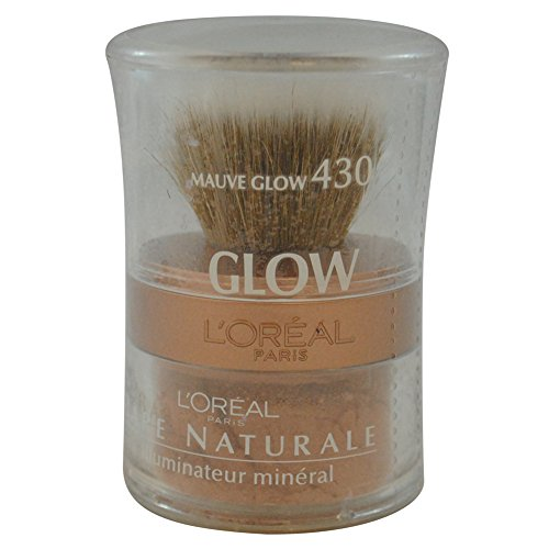 L'Oreal Bare Naturale All-over Mineral Glow - Powder with Brush - # 430 - Mauve Glow