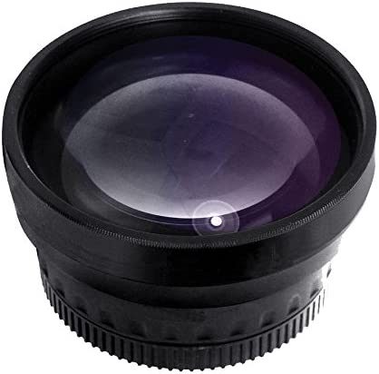 New 0.43x High Definition Wide Angle Conversion Lens for Nikon D5500 Only for Lenses with Filter Sizes of 52, 58, 62mm