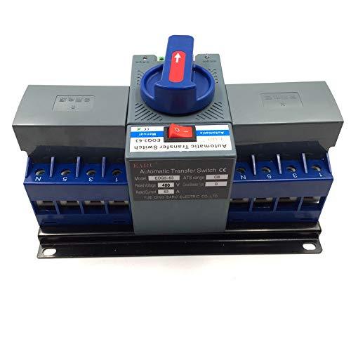 Amazon.com: 4P 63A 380V MCB Type Dual Power Automatic ...