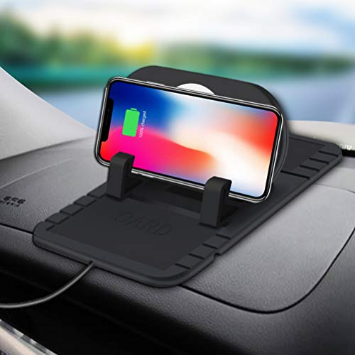 Wireless Car Charger, Car Holder Standard Wireless Charging for Pad Stand for iphone Xs, Samsung Galaxy S8Edge, Note 5