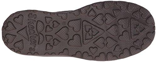 Skechers Acariciar-alto arranque de invierno Chocolate