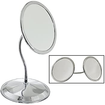 Amazon Com Doublevision 10x Amp 5x Magnifying Mirror With
