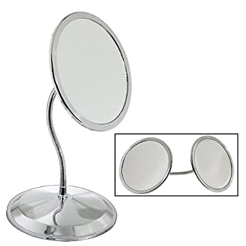 Amazoncom Doublevision 10x 5x Magnifying Mirror With Suction