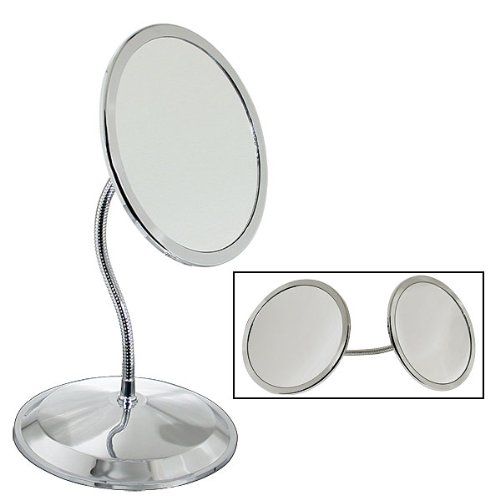 DoubleVision 10X & 5X Magnifying Mirror with Suction Cups