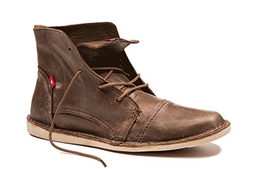 Oliberte Men's Lallo Dark Brown Pullup 45/12 Boot by Oliberte