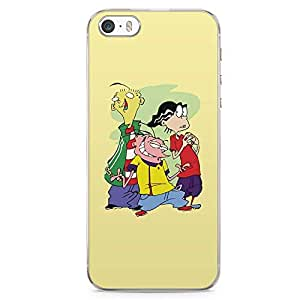 Loud Universe Ed Edd and Eddie iPhone 5 / 5s Case Cute Thief iPhone 5 / 5s Cover with Transparent Edges