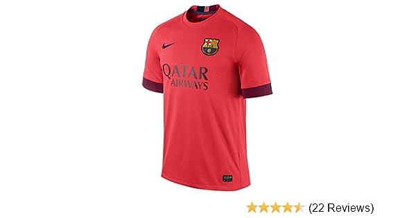 da7ba478c Amazon.com   Nike FC Barcelona Away Stadium Jersey (Bright Crimson Loyal  Blue)   Sports   Outdoors