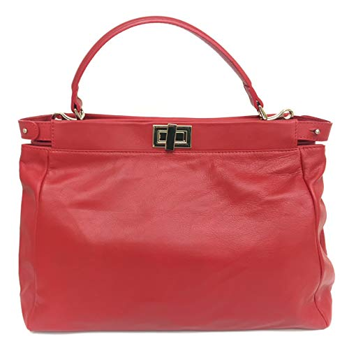 Superflybags Sac Femme En Cuir Véritable Souple Modele Florence Made Italy Rouge