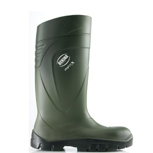 "BEKINA-PU-Stiefel ""Steplite X"" grün S5, Größe 48"
