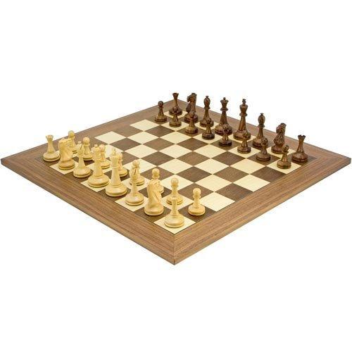 calidad de primera clase The Regency Chess Company negromore Serie Sisu Piezas de ajedrez ajedrez ajedrez con 23.6 Pulgadas Nogal Tabla  tienda en linea