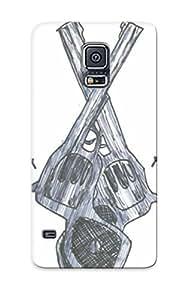 Hot Tattoo Gun First Grade Tpu Phone Case For Galaxy S5 Case Cover