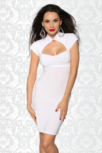 stringato Vestito bianco Vestito stringato xOTHwqIH
