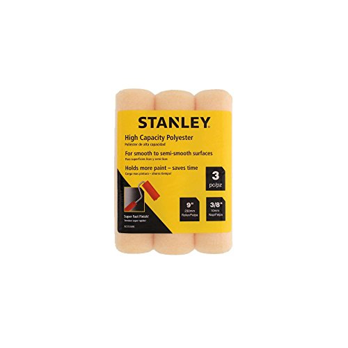 9 Cover 0.375 (Stanley 3PK Polyester Roller Cover 9