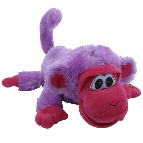 Crazy Critters Furry Laughing Friends - FREDDIE the Funky Monkey (Laughing Monkey Toy)