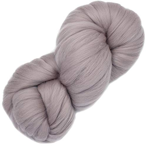 Living Dreams Air Merino Super Bulky Chunky Wool Yarn. Thick Pencil Roving Yarn for Needle Knitting and Crochet. Made in USA, - Chunky Knitting Yarn Free Patterns