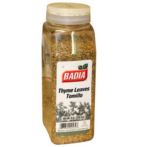 Badia: Spice, Thyme Leaves, Whole, 8 OZ by Badia