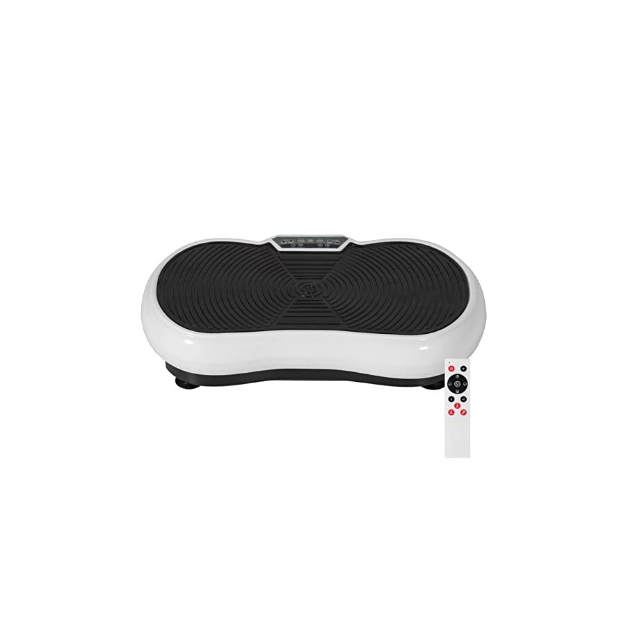 Best Choice Products Full Body Vibration Platform w/Remote Control and Resistance Bands