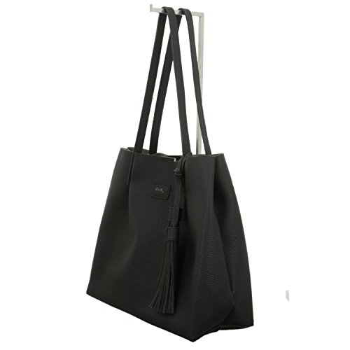 Bag ara Bags Tote Women's Black Rwtwq7KTUO