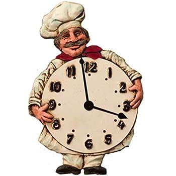 Chef Kitchen Wall Clock
