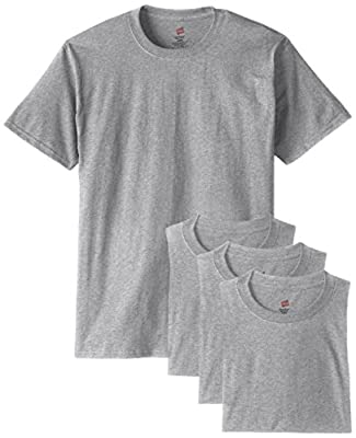 Hanes Men's 4 Pack Short Sleeve Comfortsoft T-Shirt