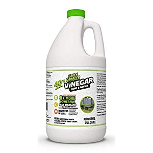 40% Vinegar Concentrate | Acetic Acid Cleaning Vinegar | Home & Garden – 1 Gallon