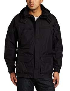 Woolrich Men's Elite Waterproof Breathable Tactical Parka Jacket, Black, Small