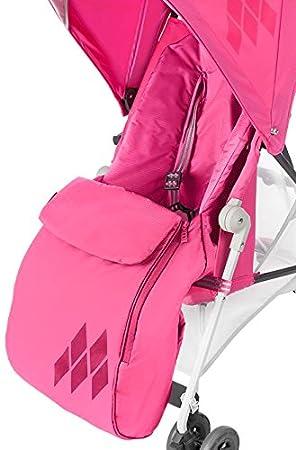 Maclaren Mark II - Saco de abrigo para silla de paseo, color azul: Amazon.es: Bebé