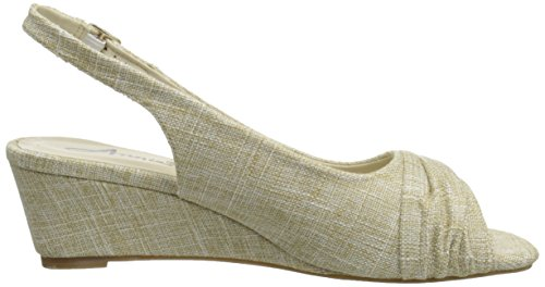 Abellonia Annie Women Sandal Shoes Espadrille Natural Wedge 0nfEq