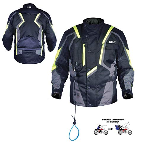 SRZ motorcyclejacket/Motorbike Jacket airbag (X-Large) ()