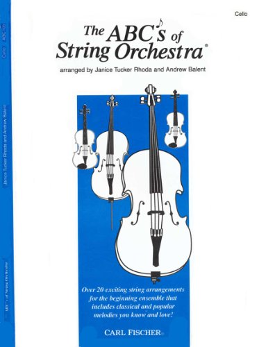 The s of String Orchestra - Cello part by Rhoda, Janice...