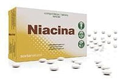 Soria Natural Niacina Retard Vitaminas - 48 Cápsulas