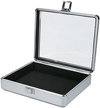Caja de transporte para iMac de aluminio caja de herramientas en la parte superior transparente (270 x 220 x 70 mm): Amazon.es: Bricolaje y herramientas
