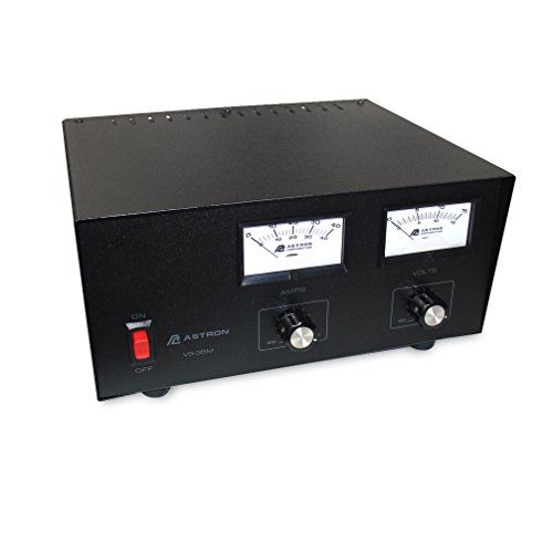 Astron Power supply with meters and adjustable voltage - 35 Amp