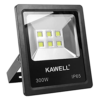 LEDMO 30W LED Flood Lights, Waterproof IP65 for outdoor, Daylight White, 6000K, 4000lm, 250W Halogen Equivalent, Security Lights, Floodlight