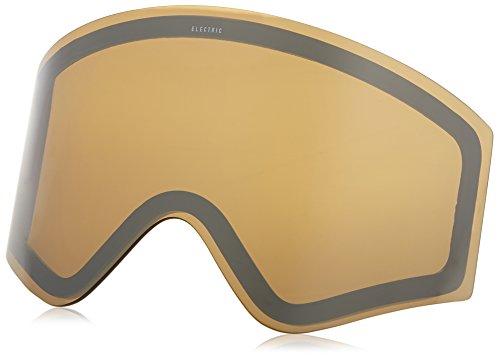 Electric Visual EGX Bronze/Silver Chrome Snow Goggle - Chrome Bronze Blue Lens Electric