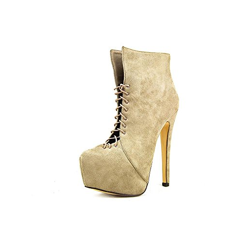 Luichiny Womens Luichiny Taupe Suede Imi Anna Womens Bootie Rose 6a67qC4wx