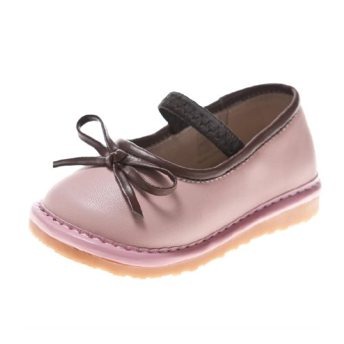 Little Blue Lamb Squeaky Shoes, Girls, with Removable Squeaker, Wide Head (for Baby / Toddler / Kid) - Baby Girl Squeaker Shoes