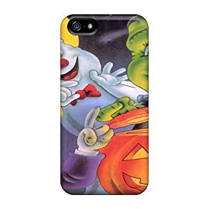 First-class Case Cover For Iphone 5/5s Dual Protection Cover Halloween Cuteness