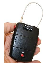 FJM Security SX-776, alarma con cable de seguridad y perforación, sirena de 120 decibelios