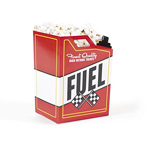 race car fuel can popcorn