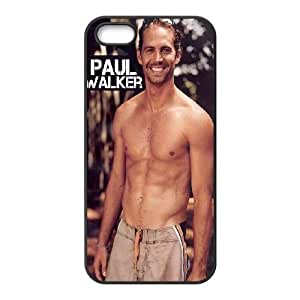 Custom Paul Walker Hard Case for iPhone 5,iPhone 5S, Customized Paul Walker Iphone 5 Hard Cover Case, DIY Paul Walker iPhone 5S Cover