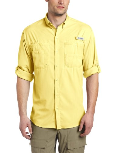 Columbia Men's Tamiami II Long Sleeve Shirt, XX-Large, Sunlit