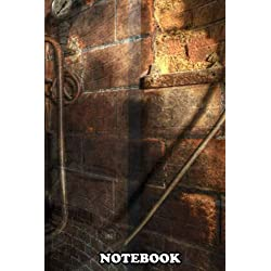 Notebook: Corridors And Clocks , Journal for Writing, College Ruled Size 6 x 9, 110 Pages
