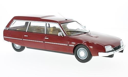 Citroen CX 2200 Super Break Serie I, dunkelrot, 1976 1 18 Modelcar Group