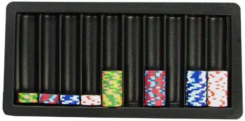 Poker Table Tray - Trademark Poker 10-Row Blackjack Table Tray