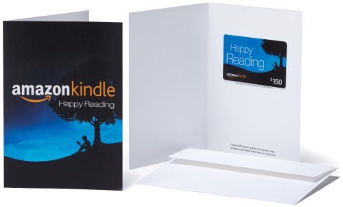 Amazon.com $150 Gift Card in a Greeting Card (Amazon Kindle Design)
